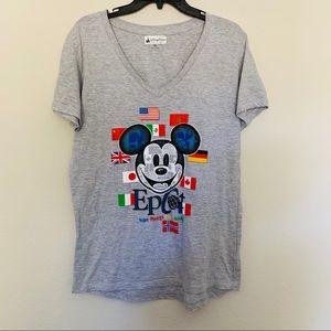 Disney Parks  Epcot International Flag Tee